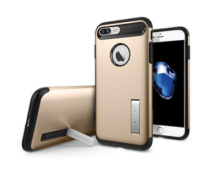 Чехол-накладка для  iPhone 7 Plus/8 Plus - Spigen Slim Armor - Champagne Gold (SGP-043CS20310)