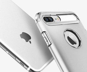Чехол-накладка для  iPhone 7 Plus/8 Plus - Spigen Slim Armor - Satin Silver (SGP-043CS20313) - фото 8