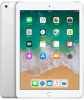 Apple iPad Wi-Fi+ Cellular 32GB- Silver (MR6P2)