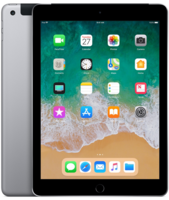 Apple iPad Wi-Fi + Cellular 32GB - Space Gray (MR6Y2)