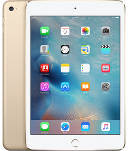 Apple iPad mini 4 Wi-Fi + LTE 128GB Gold (MK8F2, MK782) - фото 0