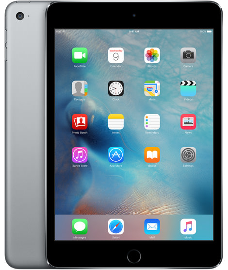 Apple iPad mini 4 Wi-Fi 64GB Space Gray (MK9G2)