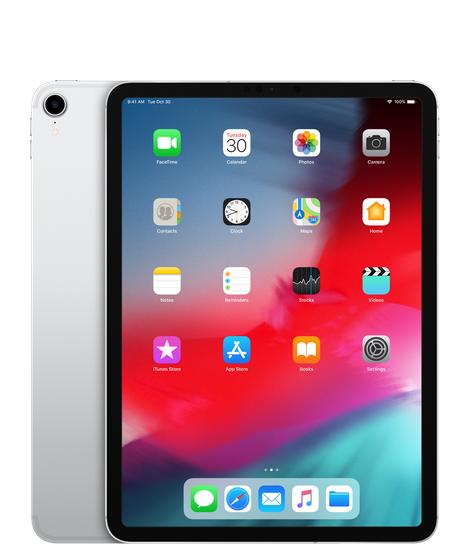 "Apple iPad Pro 11"" Wi-Fi+Cellular 64GB Silver (MU0Y2) 2018"