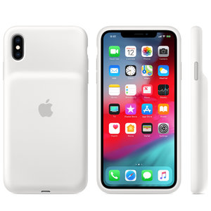 Чехол для iPhone XS Max - Apple Smart Battery Case - White (MRXR2) - фото 2