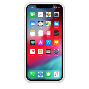 Чехол для iPhone XS Max - Apple Smart Battery Case - White (MRXR2) - фото 3