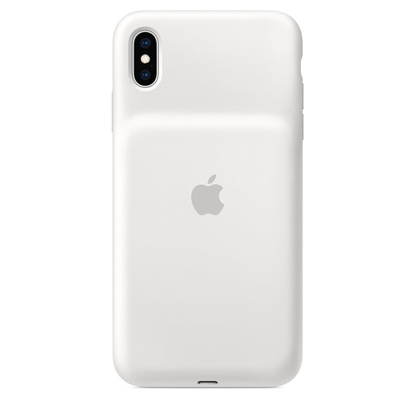 Чехол для iPhone XS Max - Apple Smart Battery Case - White (MRXR2)