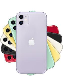iPhone 11 128Gb (Black) (MWLE2) - фото 2