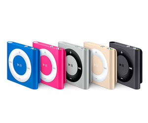 Apple iPod shuffle 4Gen 2GB Gold (MKM92) - фото 4