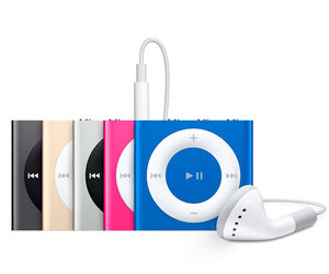 Apple iPod shuffle 4Gen 2GB Blue (MKME2)
