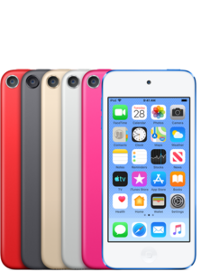 Apple iPodtouch 7Gen 128GB Blue (MVJ32) - фото 1