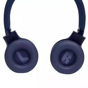 Наушники с микрофоном JBL LIVE 400 BT Blue (JBLLIVE400BTBLU) - фото 5