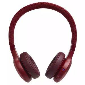 Наушники с микрофоном JBL LIVE 400 BT Red (JBLLIVE400BTREDAM) - фото 1