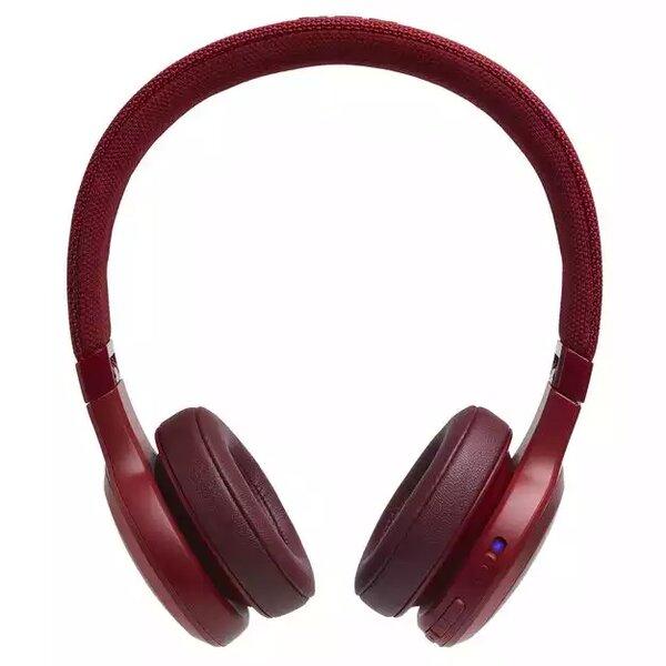 Наушники с микрофоном JBL LIVE 400 BT Red (JBLLIVE400BTREDAM)