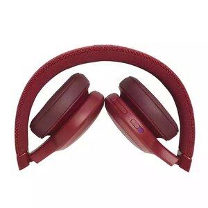 Наушники с микрофоном JBL LIVE 400 BT Red (JBLLIVE400BTREDAM) - фото 4
