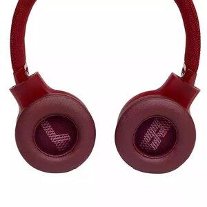 Наушники с микрофоном JBL LIVE 400 BT Red (JBLLIVE400BTREDAM) - фото 5