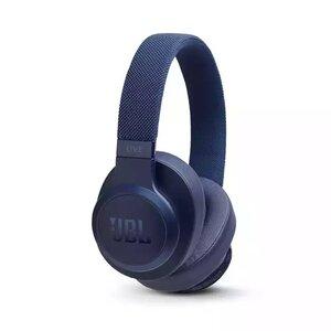 Наушники с микрофоном JBL LIVE 500 BT Blue (JBLLIVE500BTBLU) - фото 1