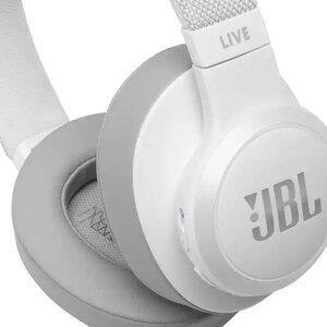 Наушники с микрофоном JBL LIVE 500 BT White (JBLLIVE500BTWHT) - фото 2