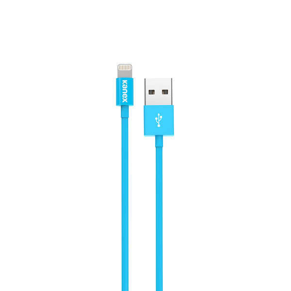 Кабель Kanex SureFit Lightning ChargeSync Cable - 4 ft/1.2 m , Blue (K8PIN4FBL)