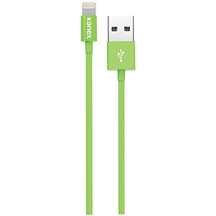 Кабель Kanex SureFit Lightning ChargeSync Cable - 4 ft/1.2 m, Green (K8PIN4FGN)