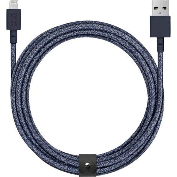 Кабель Native Union Belt Cable Lightning Indigo (1.2 m) (BELT-KV-L-IND-2)