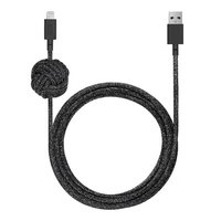 Кабель Native Union Night Cable Lightning Cosmoc Black (3 m) (NCABLE-KV-L-CS-BLK)