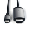 Кабель Satechi Type-C to 4K HDMI Cable Space Gray (ST-CHDMIM)