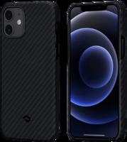 Чехол-накладка для iPhone 12 Pro - Pitaka MagEZ Case Twill - Black/Grey (KI1201P)