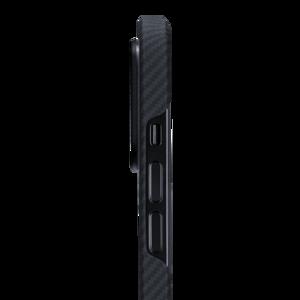 Чехол-накладка для iPhone 12 Pro Max - Pitaka Air Case Twill - Black/Grey (KI1201PMA) - фото 1