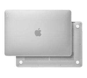 """Чехол-накладка для MacBook Air 13"""" (2020) - LAUT HUEX - Белый арктический (L_13MA20_HX_F) - фото 4"""