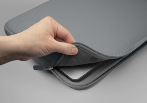Чехол-папка LAUT HUEX PASTELS SLEEVE for MacBook Air/Pro 13'' Gray (L_MB13_HXP_GY) - фото 3