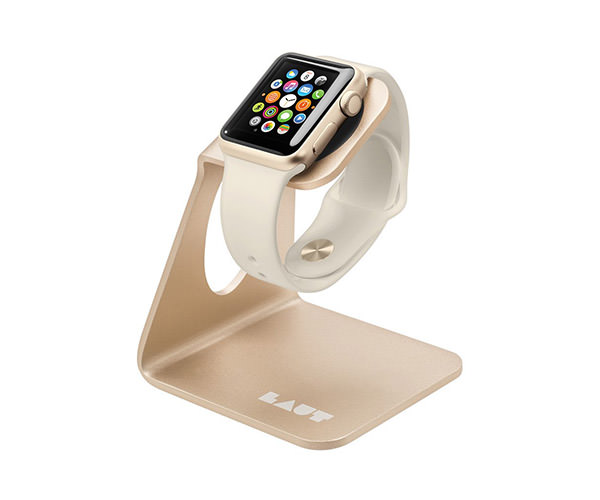 Подставка для Apple Watch - LAUT Aw Stand - Gold (LAUT_AWS_GD)