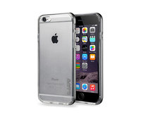 Чехол-накладка для iPhone 6/6s - LAUT Exoframe - Gun Metal (LAUT_IP6_EX_GM)