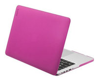 Чехол-накладка для MacBook Pro 13'' - LAUT Huex - Fuchsia (LAUT_MP13_HX_P2)