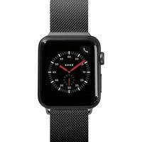 Ремешок миланского плетения Laut STEEL LOOP для Apple Watch 42/44 мм, черный LAUT_AWL_ST_BK
