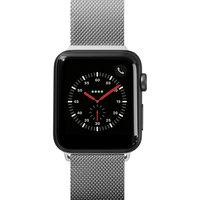 Ремешок миланского плетения Laut STEEL LOOP для Apple Watch 42/44 мм, серебряный LAUT_AWL_ST_SL