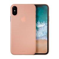 Чехол-накладка для iPhone X - LAUT Slimskin - Pink (LAUT_IP8_SS_P)