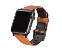 Ремешок для Apple Watch 38mm - Decoded Leather Strap Voor - Brown (D5AW38SP1BN)