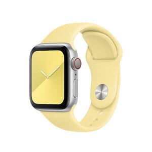 Ремешок для Apple Watch 38/40 mm - Apple Sport Band - S/M & M/L - Lemon Cream (MWUU2) - фото 1