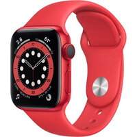 Apple Watch Series 6 LTE 40mm (PRODUCT)RED Aluminum Case with (PRODUCT)RED Sport Band (M02T3)