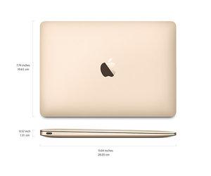 "MacBook 12"" Rose Gold (MNYM2) 256GB 2017 - фото 6"