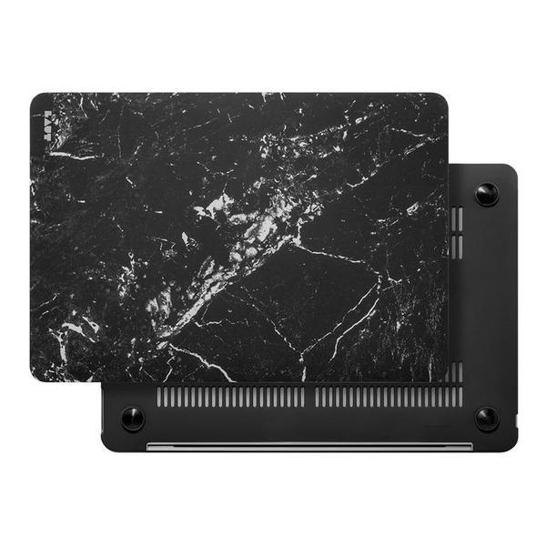 "Чехол для MacBook Air 13"" (2018) черный мрамор (LAUT_13MA18_HXE_MB)"