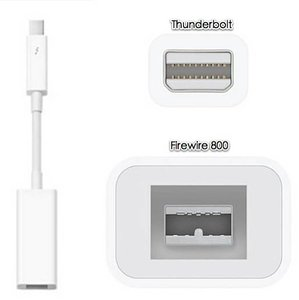 Адаптер Apple Thunderbolt to FireWire (MD464) - фото 2