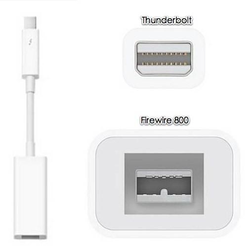Адаптер Apple Thunderbolt to FireWire (MD464)