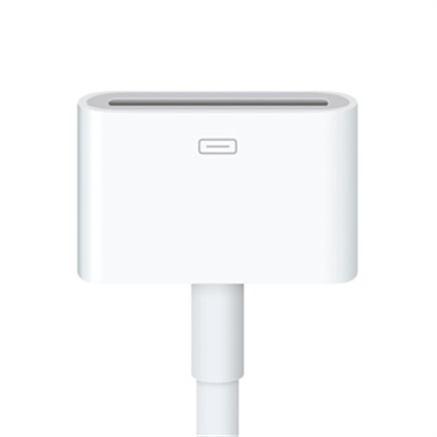 Адаптер-кабель Apple Lightning to 30-pin (0.2 m) (MD824)