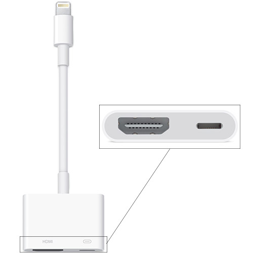 Адаптер Apple Lightning to Digital AV (MD826)