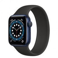 Apple Watch Series 6 40mm Blue Aluminum Case with Black Solo Loop (MG2A3)