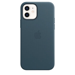 Чехол-накладка для iPhone 12/12 Pro - Apple Leather Case with MagSafe - Baltic Blue (MHKE3) - фото 3