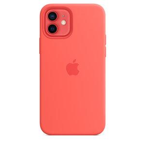 Чехол-накладка для iPhone 12/12 Pro - Apple Silicone Case with MagSafe - Pink Citrus (MHL03) - фото 3