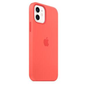 Чехол-накладка для iPhone 12/12 Pro - Apple Silicone Case with MagSafe - Pink Citrus (MHL03) - фото 8