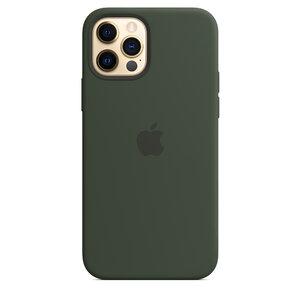 Чехол-накладка для iPhone 12/12 Pro - Apple Silicone Case with MagSafe - Cyprus Green (MHL33) - фото 6